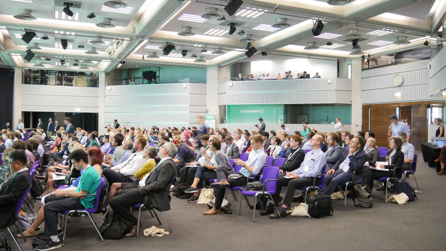 Rapt audiences at SynbiTECH 2019