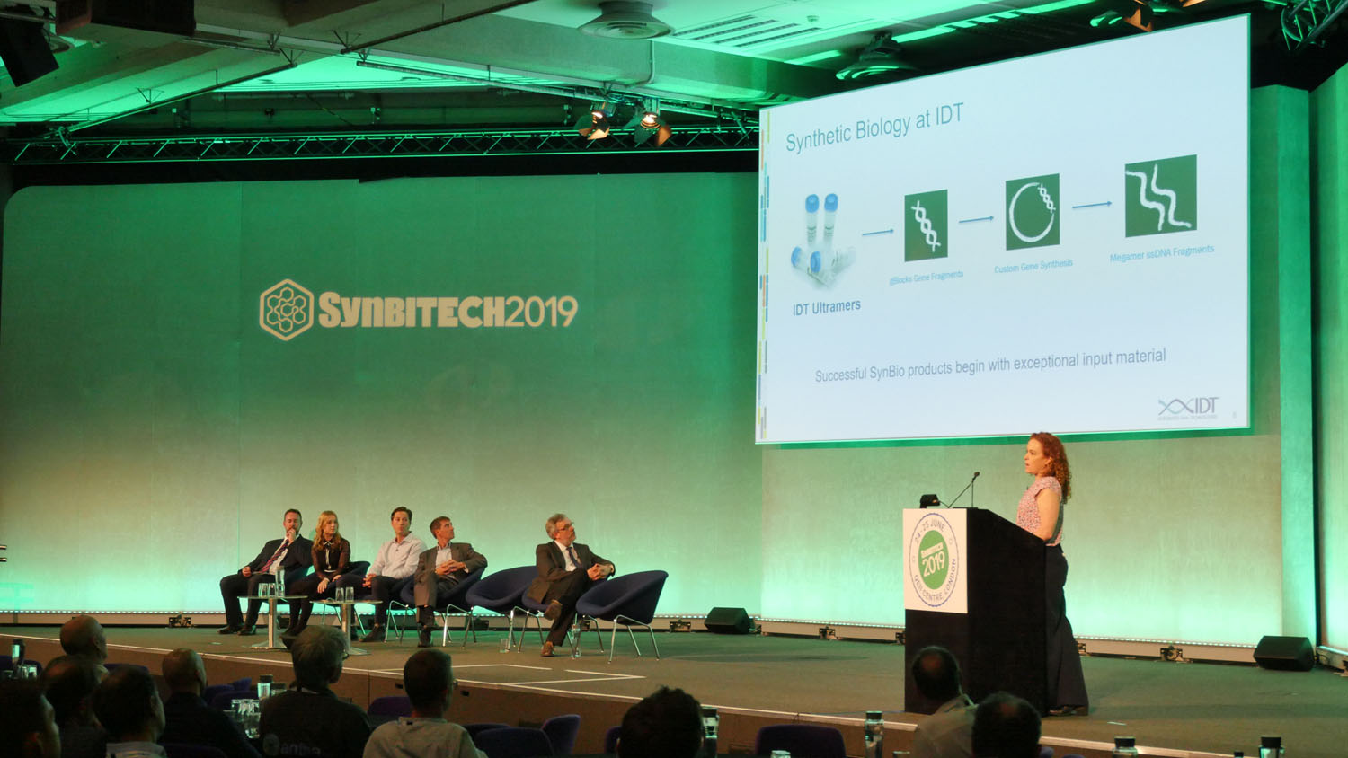 Elizabeth Nickerson, Director of Business Development - Synthetic Biology, Integrated DNA Technologies presents at SynbiTECH 2019